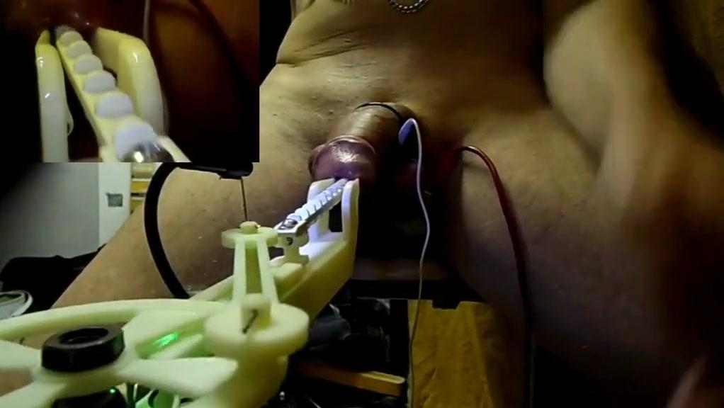 fucking rod notched machine cock +electrostim Sasha Grey Lesbian Hot fuck harcod