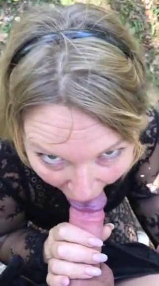Blonde Milf blowjop in public Seniorblackpeoplemeet com