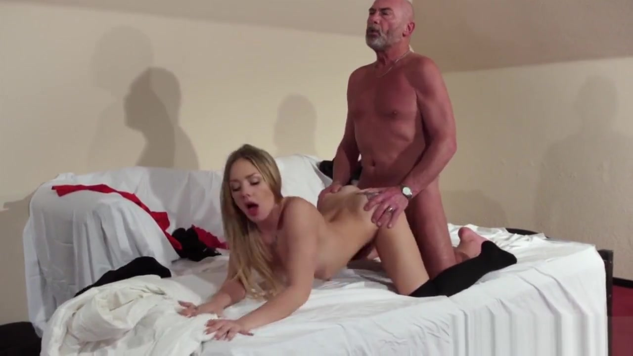 Old Young Blonde Blowjob And Hardcore Fuck From Grandpa code geass nude video