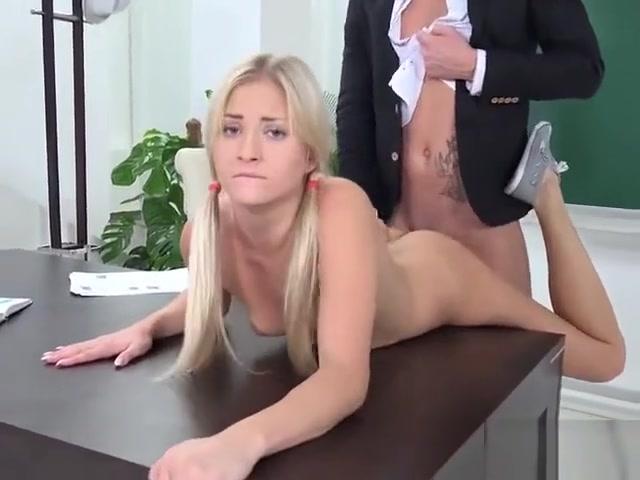 Teen Blondie Karolina Gets Dicked Down By Tutor Stealth attraction 3 words