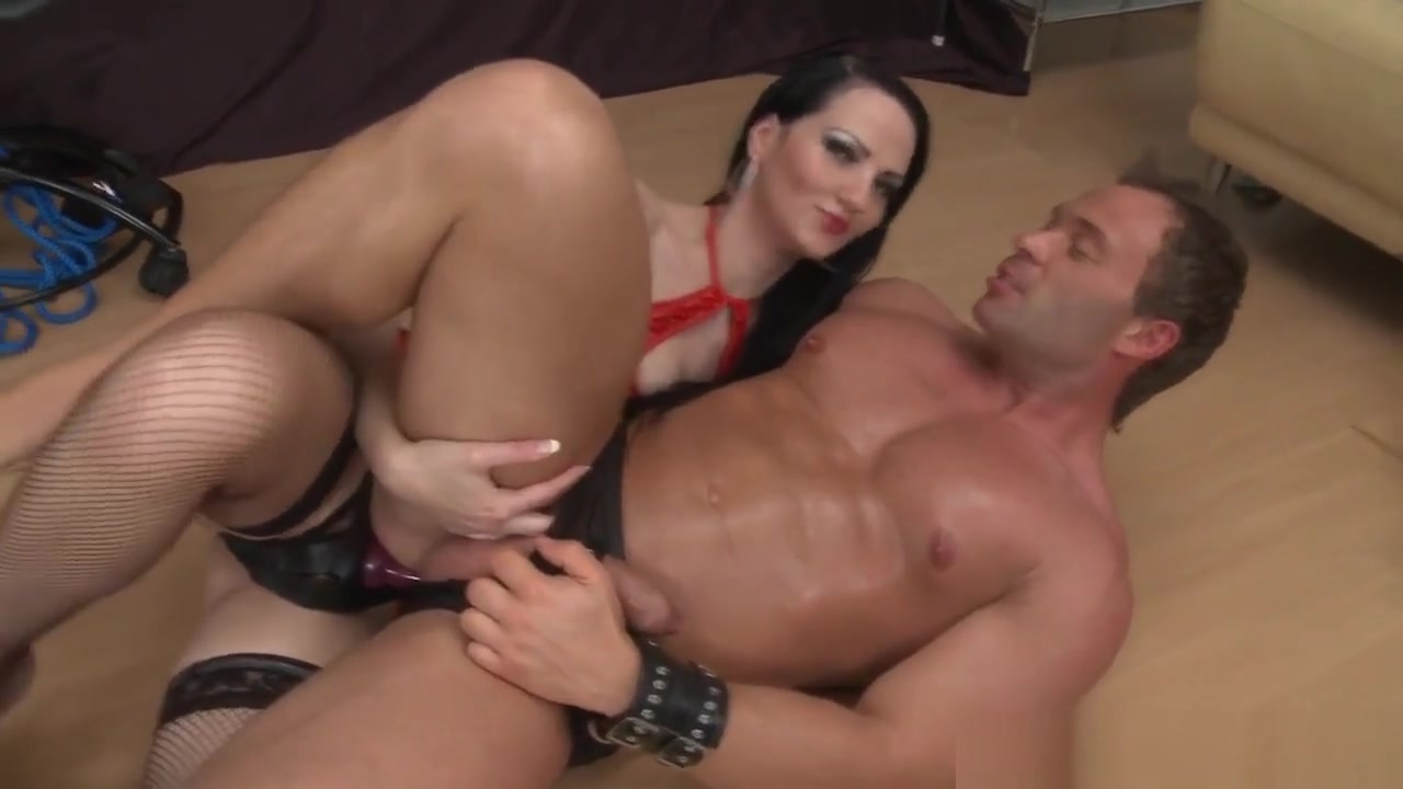 Anal Toying Female Dom Gives Guy Foot Job Forced bisexual webcam blackmail domination