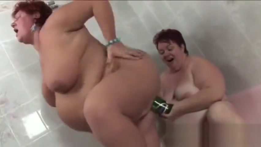 Two fat mature redheads playing with a bottle. Meet me app review