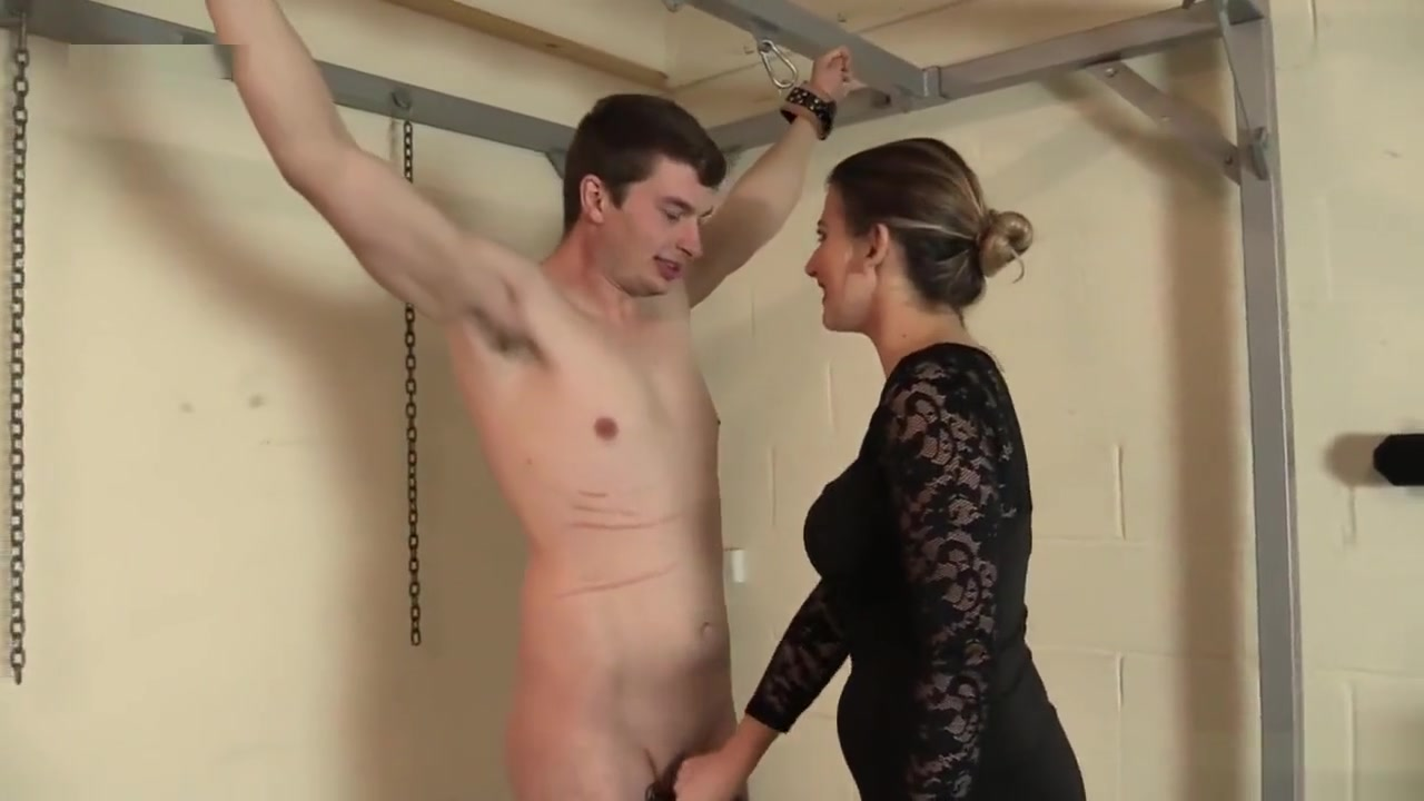 MISS TWISTED CBT WITH SLAVE TOM Themed Porno Movies
