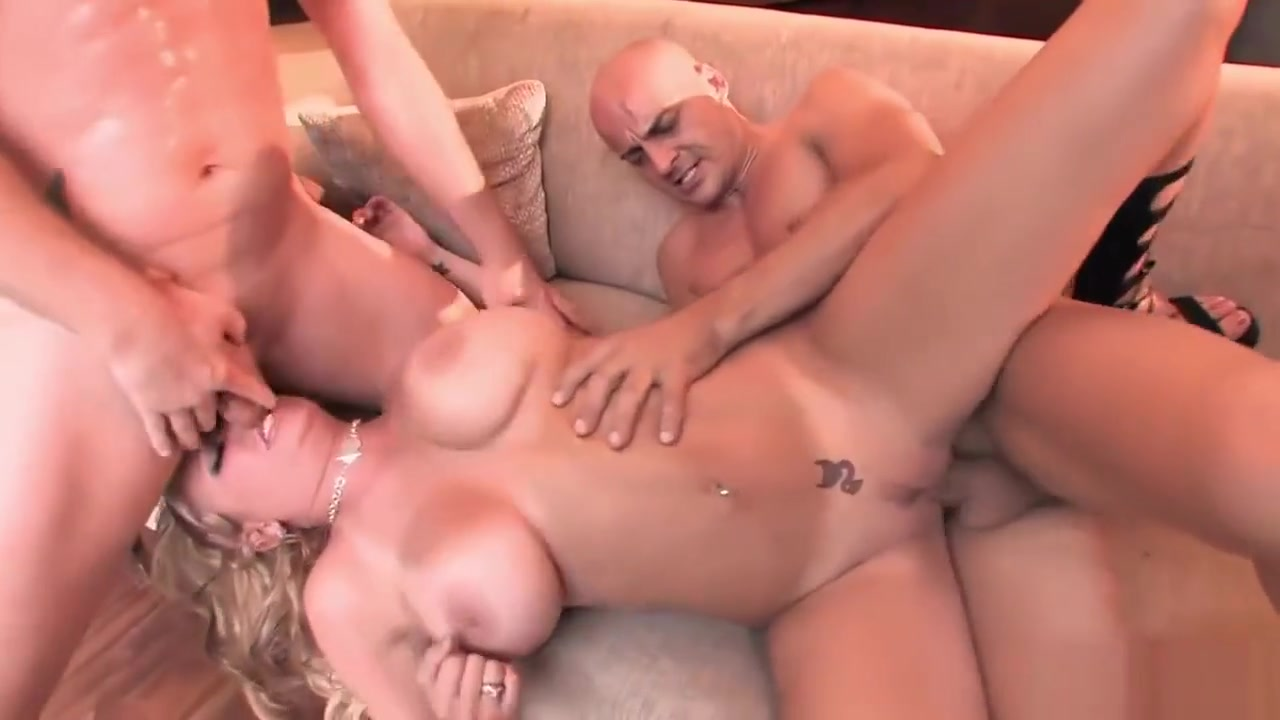Irresistible Beauty Gets Two Hard Dicks