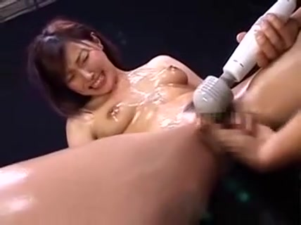 Slutty Oriental Lady Is Made To Cum Hard And Gets Covered I All natural office girl spreading on camera
