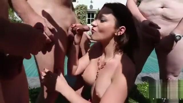 Hot Pornstar Bukkake And Facial
