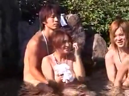 Lustful Asian Couples Get Together For An Exciting Orgy Und