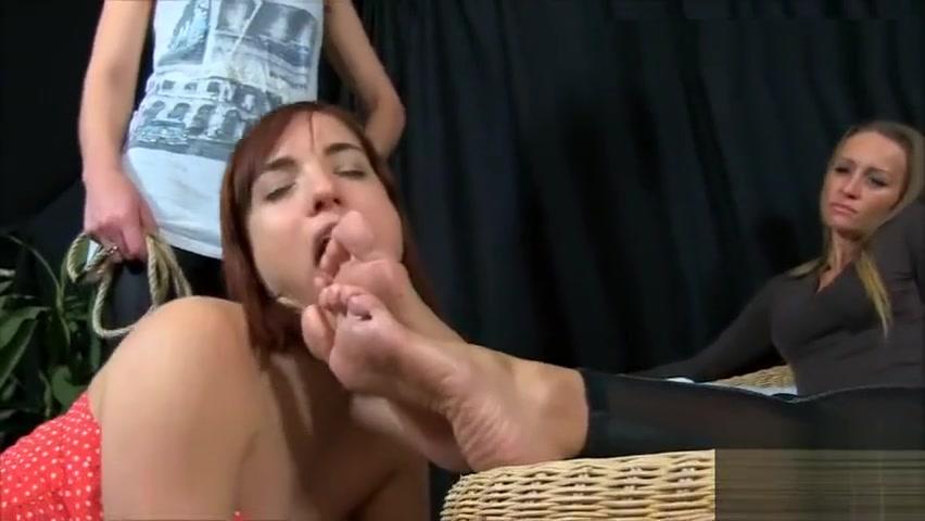 Two Mistress Lesbian Foot Slave chloe camilla anal virgin