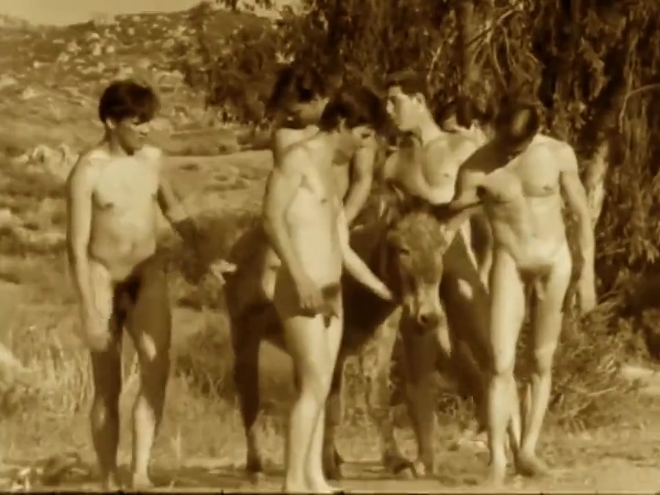 1960s Vintage Male Nudism Compilation Blackberry 8520 os 5