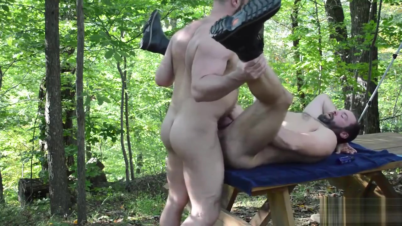 Big Bears Outdoor Bareback Fuck Nude nudists with small dicks