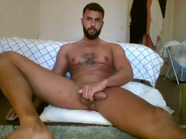 Arabian zaddy in Dearborn, MI playing with his big Saudi dick Very tall milf