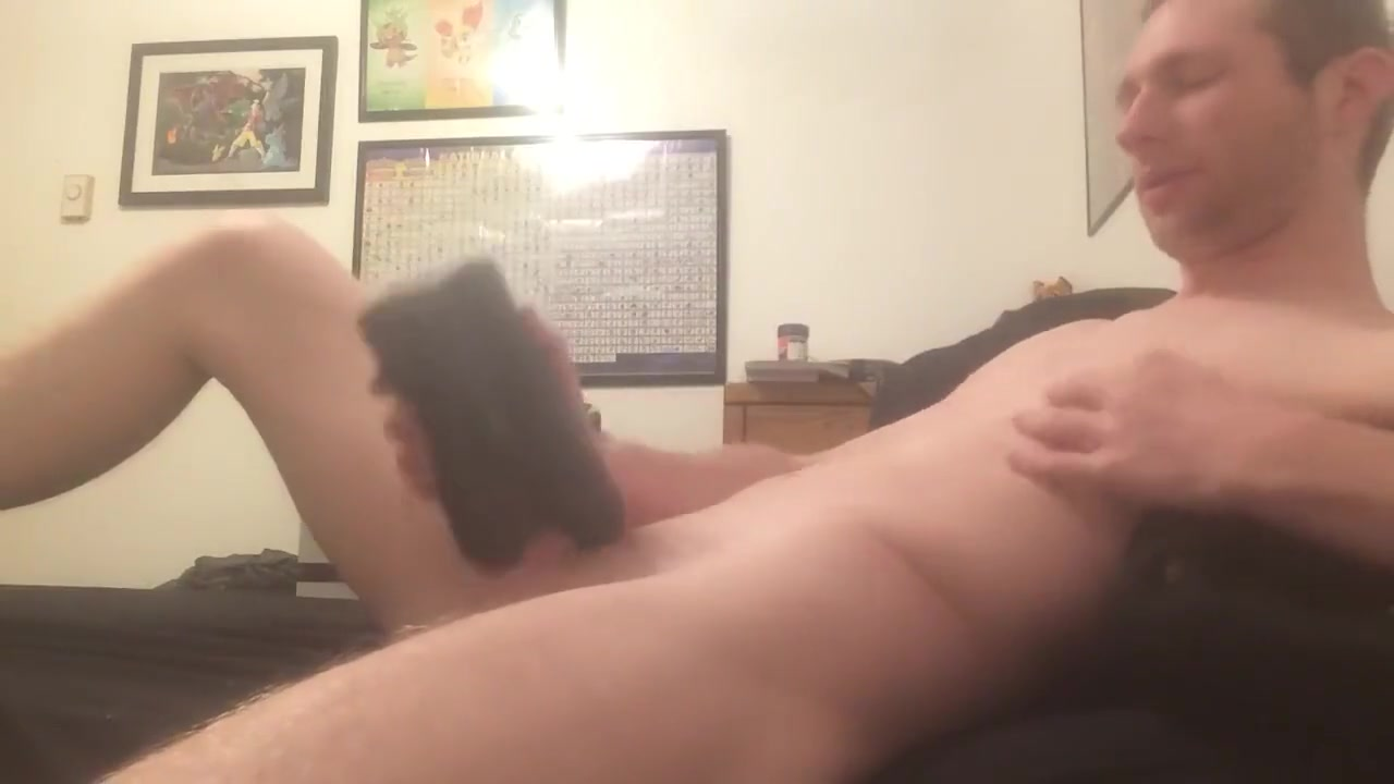 College Boy playing with Bad Dragon Toys Cock-hungry amateur chick porn scene