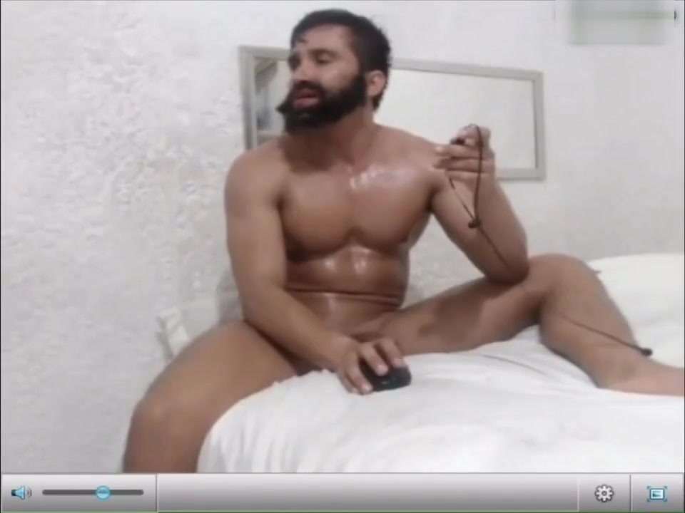 Man breaks a sweat from a extreamly intense orgasm gay hunk movie muscle