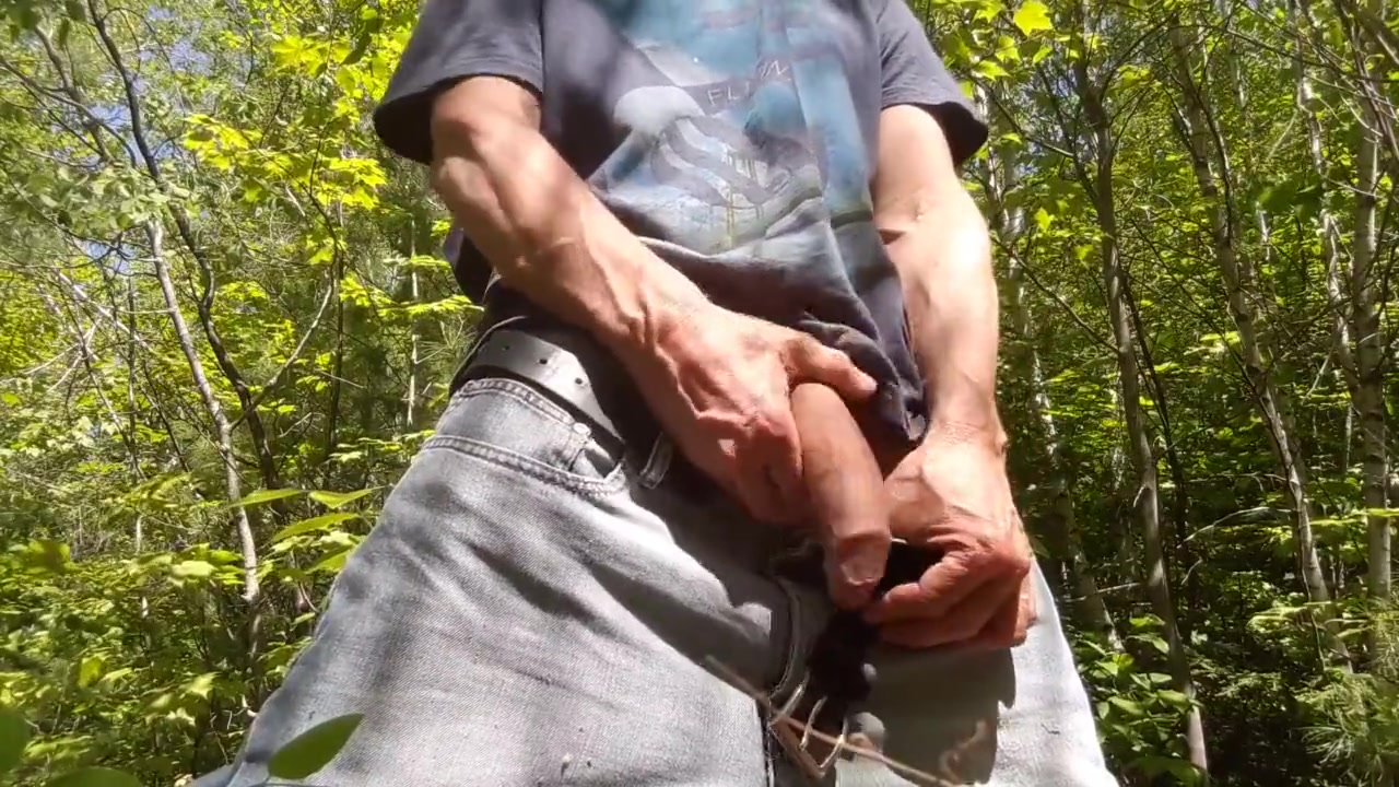 Hot edging session in the wood #2 Husband watching wife fuck tumblr