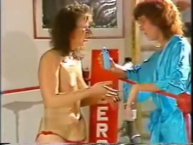 Topless Ring Wrestling in Oil Allover30 carol