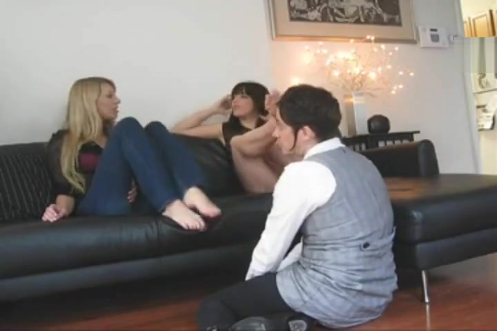 princess Rene and monqiue humiliate lesbian foot slave shoplifters alternative program adult