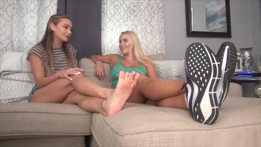 Teen Lesbian Feet Smelling