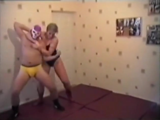 Mixed Wrestling. Destroyer of men Fisting her movies