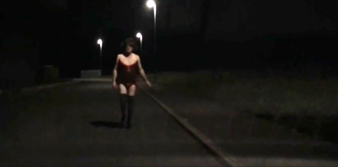 sissy kathy out and about in workington at night you are so nice japanese