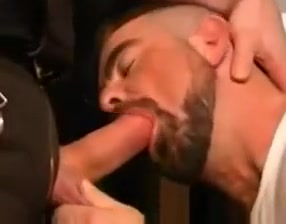 hot threesome Hairy men in g strings