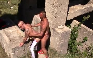 Outdoor sex having sex with sister