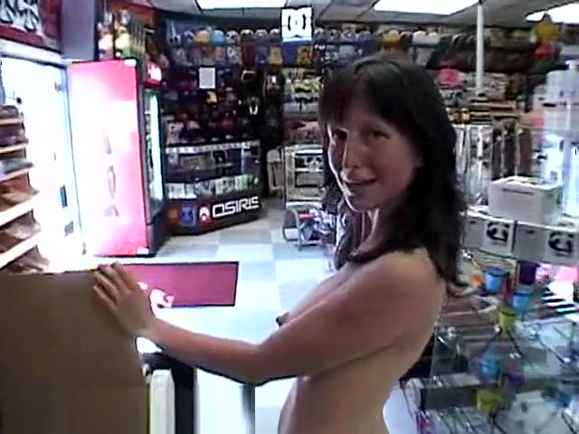 Oxana is Butt Naked in a Skate Shop 2 Dating for christian q shokstix remix