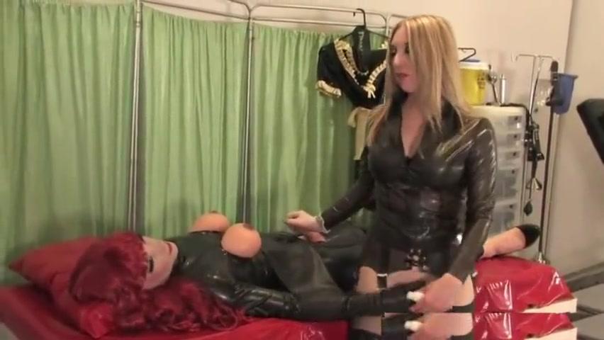 Dressing a Latex Doll