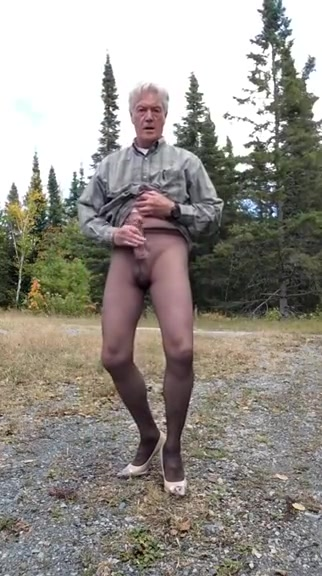 Outdoor Pantyhose sexy nude monster energy