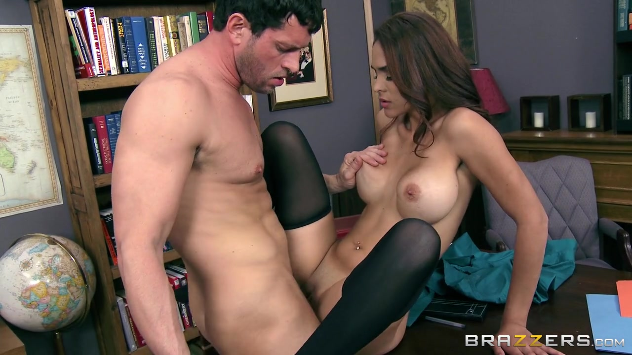 Big Tits at Work: Getting The Bosss Attention. Jasmine Caro, Preston Parker Silk panty pussy