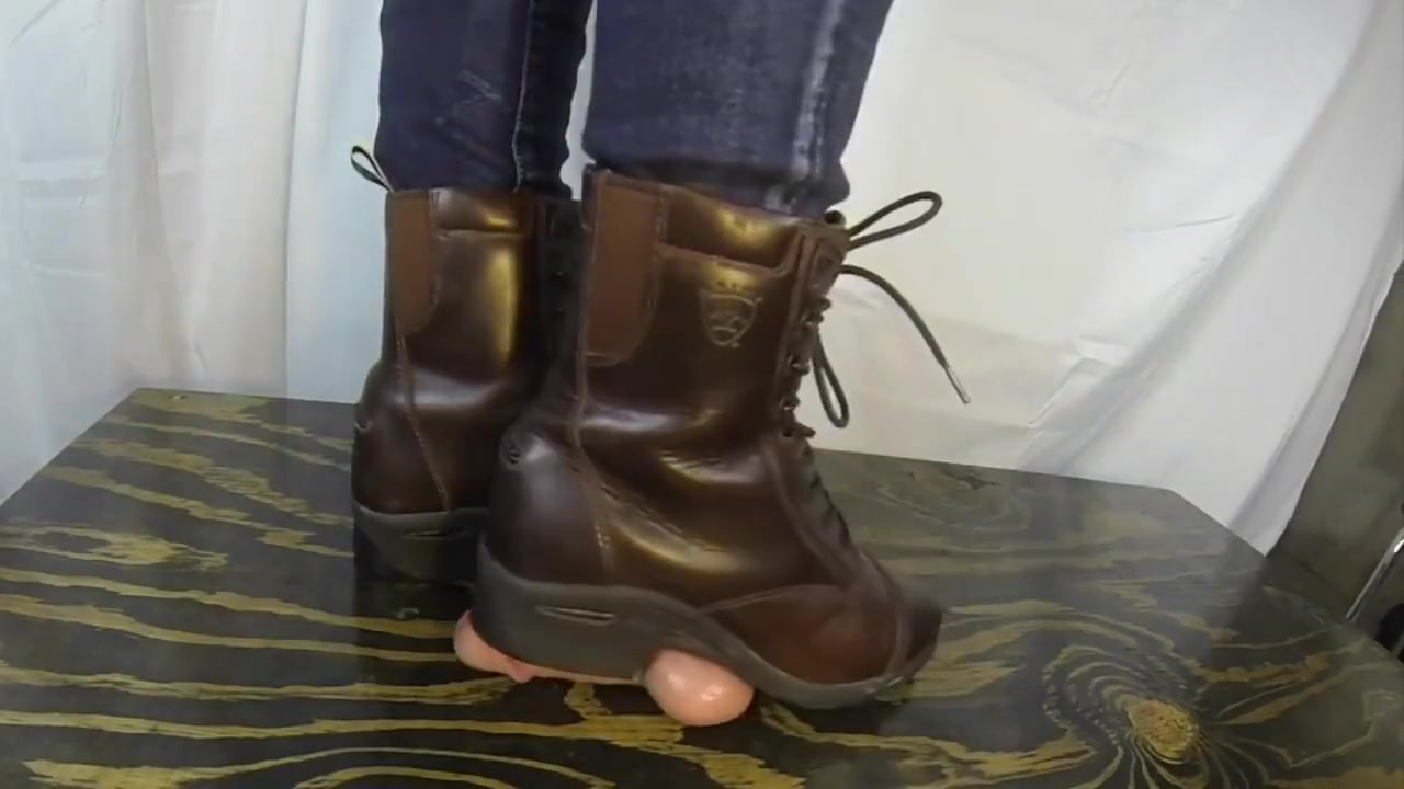 Riding Boots Trample Shoejob Atk hairy charlotte