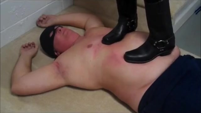 Frye boots trampling big breast mature lesbian