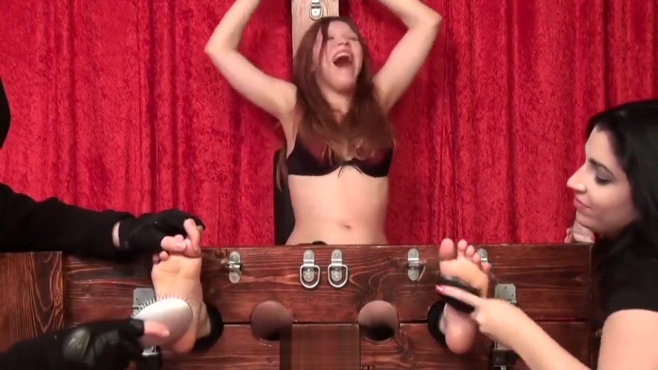 Tickle Intensive-Irish Abbie Double Teamed