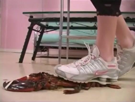 Daisy Lane loves to kill naughty lobster