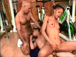 French Ambisextrous: Youthful vs Old mom catches daughter with dad porn