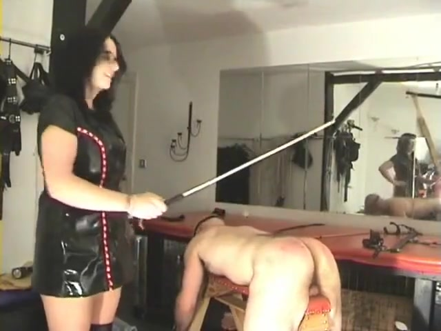 Two mistresses punish a slave Fucking brothers wife in the ass