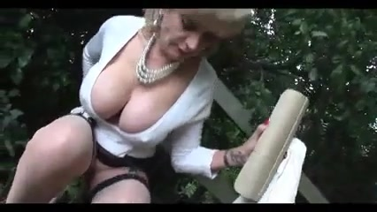 Lady Sonia Fat mature sagging tits