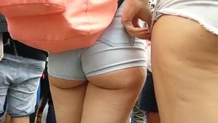 omg juicy hot white ass cheeks in shorts! sex under age watch vedio online