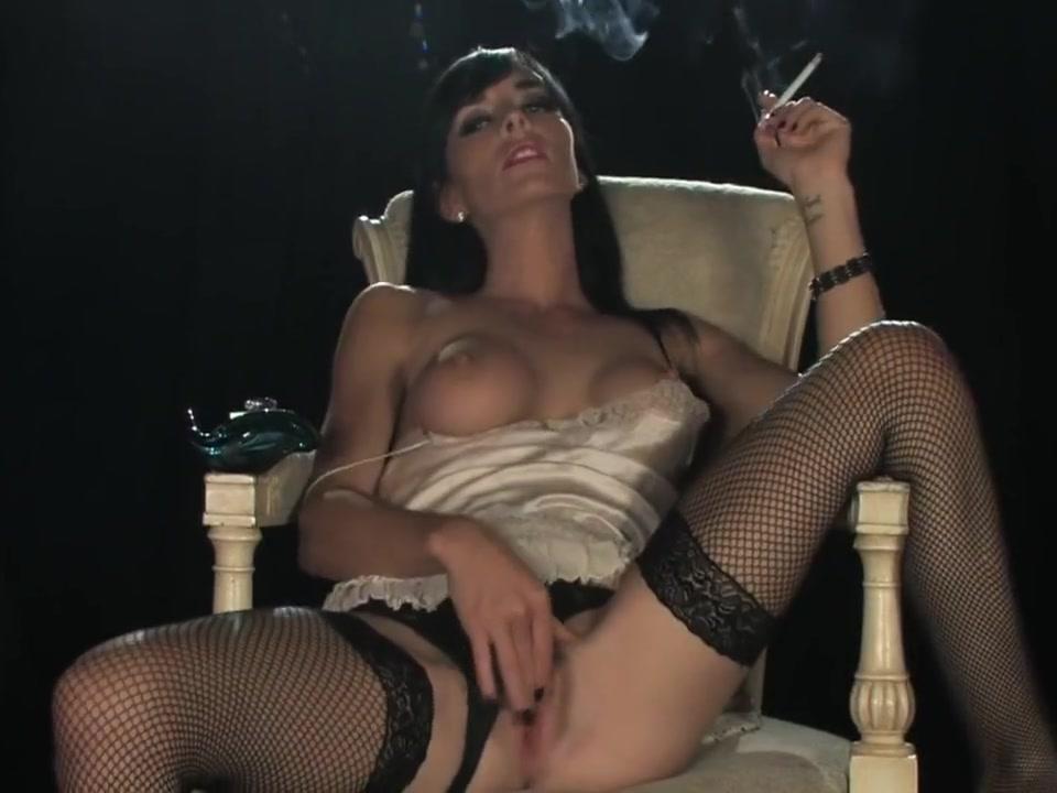Franki - Smoking Masturbation yamaha 650 v star