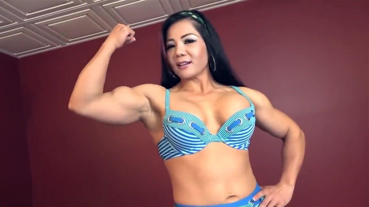 huge asian muscle (HOT) Cynthia Ingrassia Culona Infiel Culona