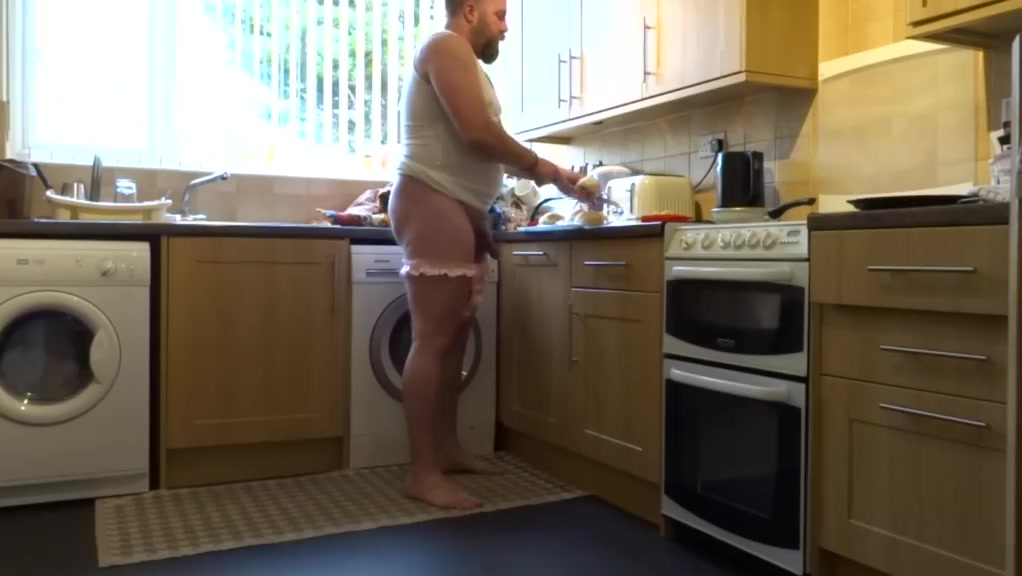 Kitchen pull down my thong and spank me xxx free outside handjob clips