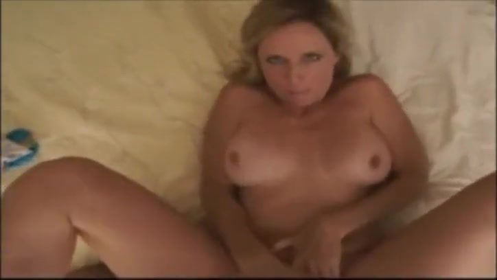 POV Mom Rewards Son With Her Pussy