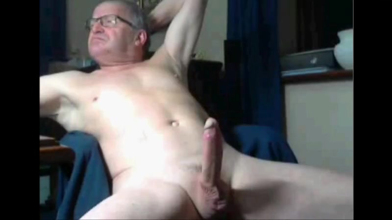 two grandpas cumming Boyfriend with dildo