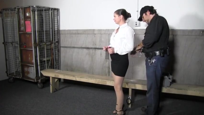 Police officer arrested Two asian tranny babe play each