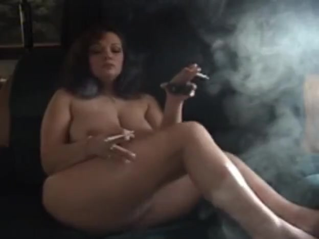 smoking angel naked
