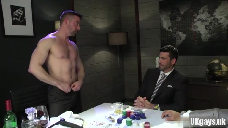 Muscle gay threesome and facial Naked russian news presenter