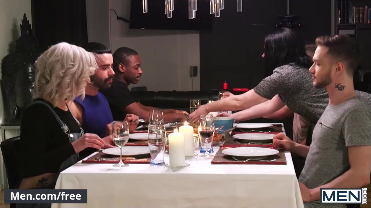 Stig Andersen and Teddy Torres - The Dinner Party Part 1 Videos of women with huge tits
