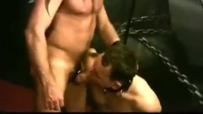 Slave12 Ebony anal creampie shower