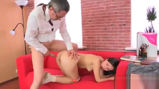 Pretty Schoolgirl Was Seduced And Poked By Her Older Tutor