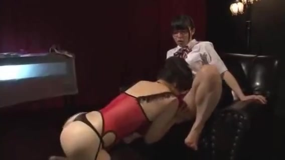 Lesbian Japanese Woman And Schoolgirl