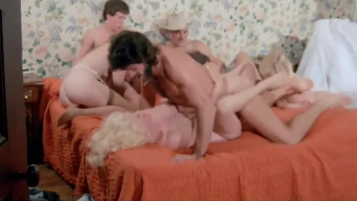 Nick Niter and Helga Sven from orgy scene from My Sinful Life(1983)